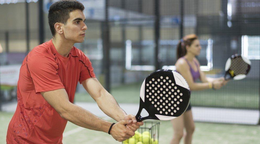 Padel racket voor beginnens