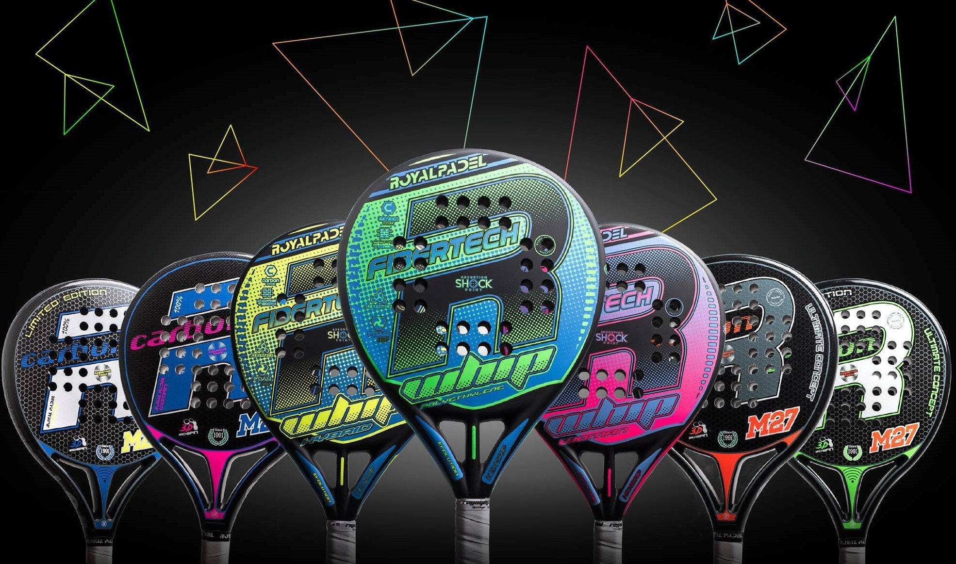 Royal Padel Padel rackets 2020