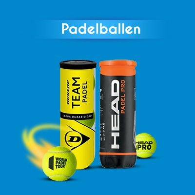 Categorie Padelballen