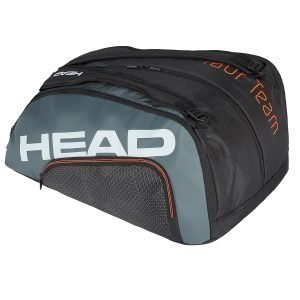 Head Tour Team MonsterCombi padeltas Zwart-Grijs