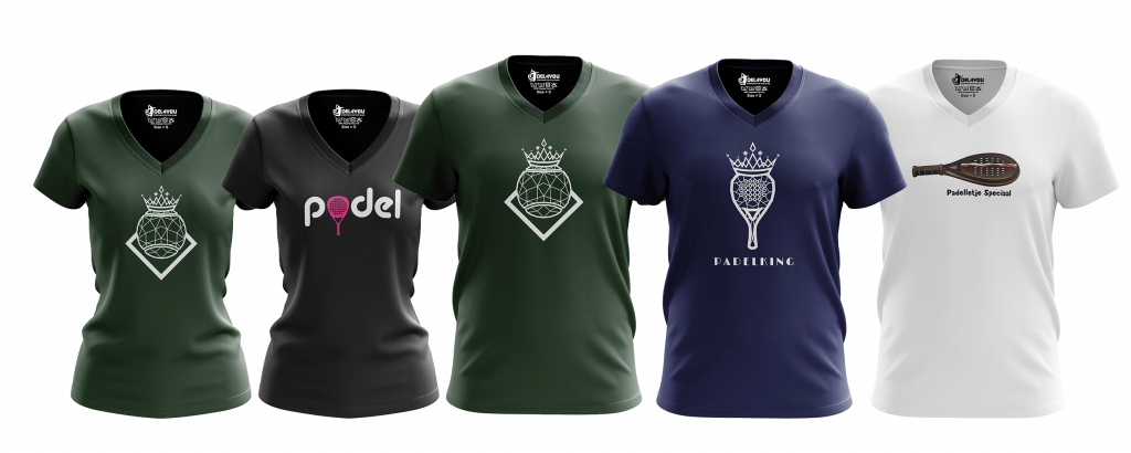 Padelshirt Collectie 2021 - Padel4you